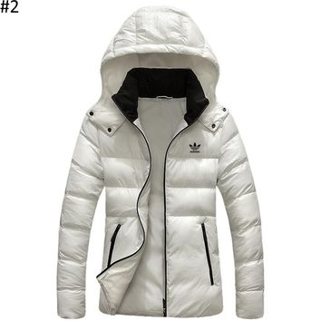 ADIDAS 2018 winter new casual sports outdoor light down coat #2