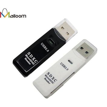 DCCKJY1 2016 PC Accessories Memory Stick Pro Duo MINI 5Gbps Super Speed USB 3.0 Micro SD/SDXC TF Card Reader Adapter Mac OS Pro