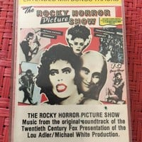 The Rocky Horror Picture Show Original Soundtrack Cassette