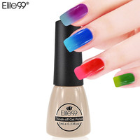 Elite99 7ml Temperature Change UV Nail Gel Polish Long Lasting