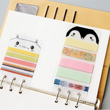 Dashboard planner divider DIY accessories for tape sticker
