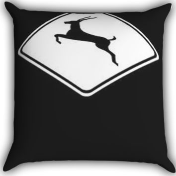 Run Like an Antelope I0088 Zippered Pillows  Covers 16x16, 18x18, 20x20 Inches