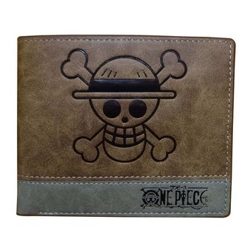 Cool Attack on Titan One Piece Men Wallets Japanese Anime Cartoon Game of Thrones  Fairy Tail Leather Purse Zipper Coin Pocket Wallet AT_90_11