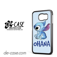 Sticth Ohana For Samsung Galaxy S6 Samsung Galaxy S6 Edge Samsung Galaxy S6 Edge Plus Case Phone Case Gift Present YO