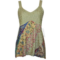 Floral Fantasy Open Back Tank Top on Sale for $34.95 at HippieShop.com