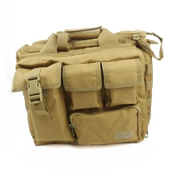 Men's Large Military Climbing bag Tactical Nylon Shoulder Messenger Bag Handbags Briefcase Tactical Laptop Bag