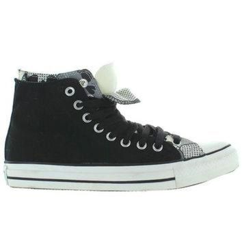 DCKL9 Converse All-Star Chuck Taylor 2X Upper Hi - Black/White Canvas Double Upper High Top