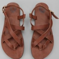 UrbanOutfitters.com > UO Leather Strap Sandal