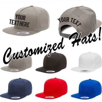 High Quality Custom Logo Hat Custom Design Custom Color Size Customize