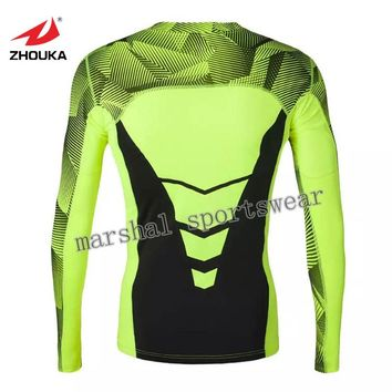 Whole price,in stock item,High Quality Elasticity Sports tops Running Jogging Clothes Aerobics Gym  Fitness dry fit neon green