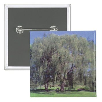 Willow Tree Square Button