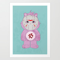 Friday the 13th Art Print by The Ghost And Robot