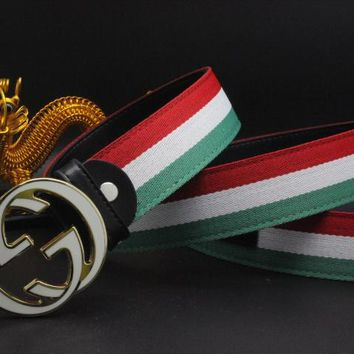 Gucci Belt Men Women Fashion Belts 502352