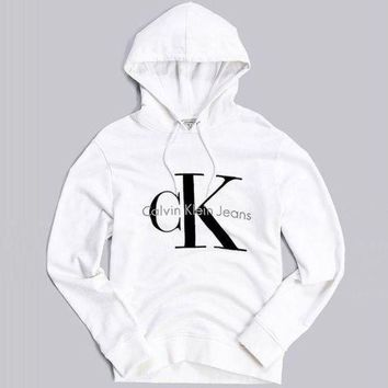 VONE055 Calvin klein Long Sleeve Pullover Sweatshirt Top Sweater Hoodie