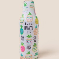 Pineapple Life Bottle Cozy