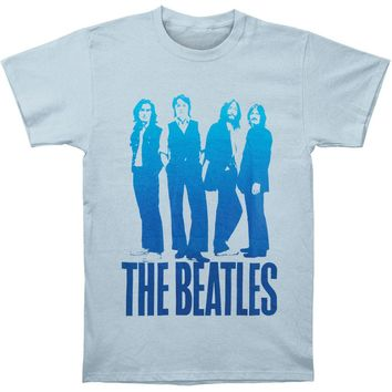 Beatles Men's  Iconic Image T-shirt Light