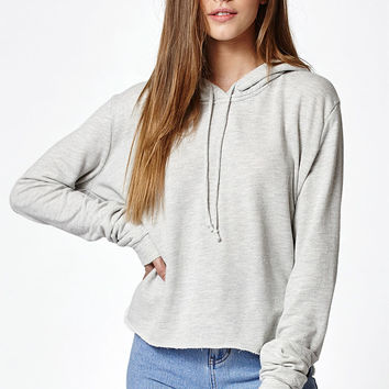 John Galt Lennon Cropped Pullover Hoodie at PacSun.com