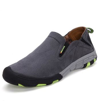 Men Fashion Summer Outdoors Permeable Casual Stylish Hiking Shoes = 6449973251