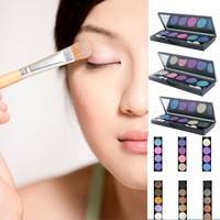 Natural Eye Makeup Shimmer Palette 5Colors Eye Shadow Matte Eyeshadow Palette Set RP2