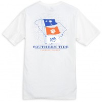 GAME DAY STATE FLAG T-SHIRT - CLEMSON UNIVERSITYStyle: 2371_CLM01