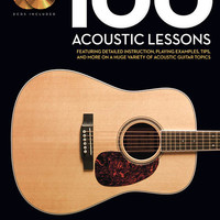 100 Acoustic Lessons - Guitar Lesson Goldmine Series (Book & CD)