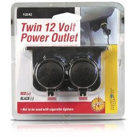 Custom Accessories 10242 Auxiliary Twin Power Outlet | AihaZone Store
