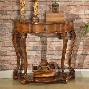 All Things Cedar Old World Entry Table