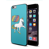 Taylor Swift Unicorn Haters gonna hate for iPhone 6 plus