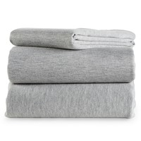 Aeropostale Jersey Knit Bedding Set - Gray,