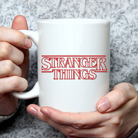 Stranger Things Mug, Stranger Things, Stranger Things Gift, The Upside Down, Friends Don't Lie, Stranger Things 2, Coffee mug