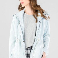 Dalton Chambray Hooded Jacket