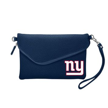 New York Giants Tailgate Pebble Purse