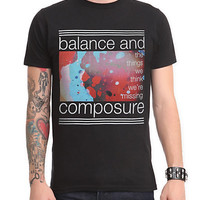 Balance And Composure Things Slim-Fit T-Shirt