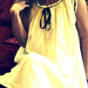 Cream Chemise by LaBelleFairy on Etsy