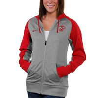 US Marine Corps Nike Women's Therma-FIT Hoodie – Gray