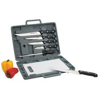 Maxam® Knife Set with Cutting Board