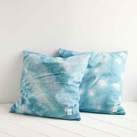 Riverside Tool & Dye Turquoise Dropcloth Pillow- Assorted One