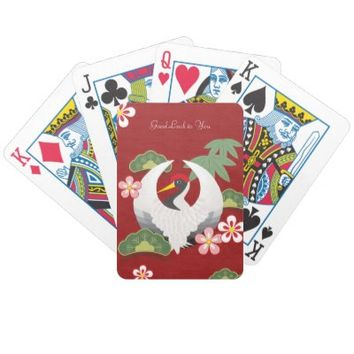Good Luck Custom Card Deck for Birthday, Wedding Favors, Anniversaries, New Year, or Any Other Celebrations