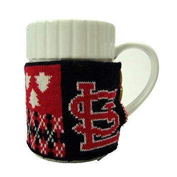 St. Louis Cardinals Official MLB Ugly Sweater Christmas Mug by Forever Collectibles 104242