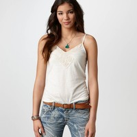 AE Crochet Trim Cami | American Eagle Outfitters