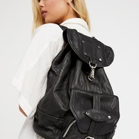 Free People Axl Leather Backpack