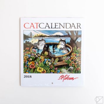 B. Kliban 2018 Cat Mini Wall Calendar