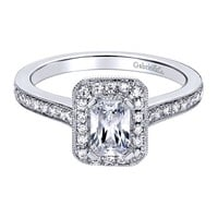 Trista Ready for Love Diamond Engagement Ring 1.05CTW Steven Singer Jewelers