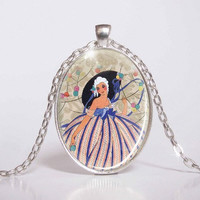 Pendant with Chain - cabaret from the 20's 26