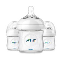 AVENT Natural 3-Pack 4-Ounce Bottles