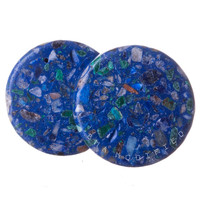 Synthetic Compressed Azurite Plugs (4mm-25mm)