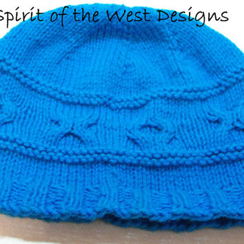 Love ME Hat - Knitting Pattern - Newborn to Adult sizes, winter hat, toque, teens, unisex, basic knit hat, many sizes easy quick, cable, xox