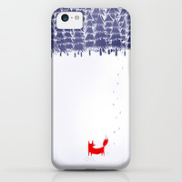 Alone in the forest iPhone & iPod Case by Robert Farkas