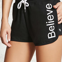 Active Believe Graphic Shorts
