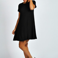 Hetty Short Sleeve Swing Dress